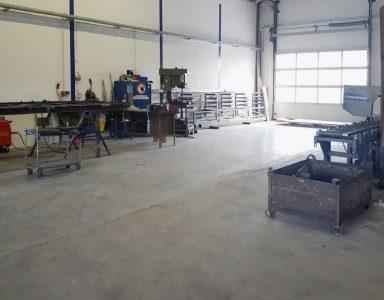 Werkshalle Metallbau Schmidt Partner GmbH