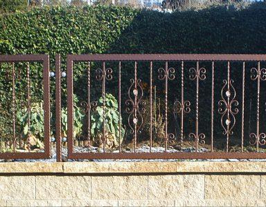 Gartenzaun Schmiedeelemente
